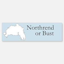 Northrend or Bust Bumper Bumper Bumper Sticker