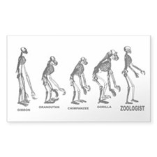 Zoologist Zoology Decal