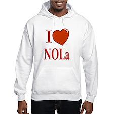 I Love New Orleans Hoodie
