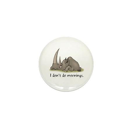 Lazy Rhino Mini Button (10 pack)