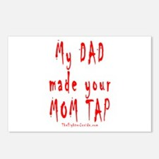 My DAD made your MOM TAP Postcards (Package of 8)