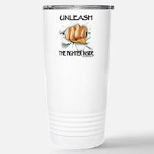 Unleash The Fighter Inside Travel Mug