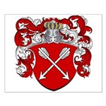 Bolten Family Crest Small Poster
