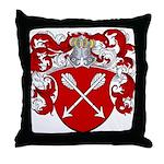 Bolten Family Crest Throw Pillow