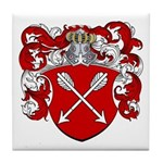 Bolten Family Crest Tile Coaster