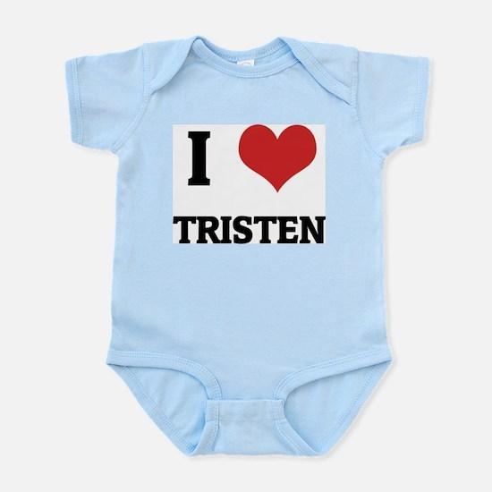 I Love Tristen Infant Creeper