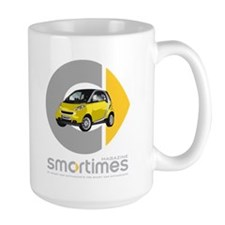 Yellow Smart Car Mug