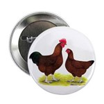 "Red Broiler Chickens 2 2.25"" Button (100 pack"
