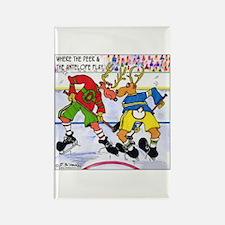 Where the Deer & the Antelope Play Hockey Rectangl