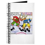 Where the Deer & the Antelope Play Hockey Journal