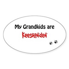 Kees Grandkids Oval Decal
