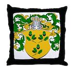 Bonser Family Crest Throw Pillow