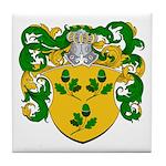 Bonser Family Crest Tile Coaster