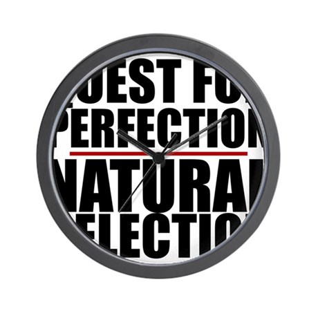 QUEST FOR PERFECTION Wall Clock