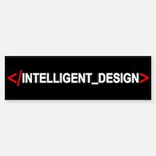 End Intelligent Design Bumper Bumper Bumper Sticker