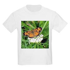 Heath Fritillary Butterfly Kids T-Shirt