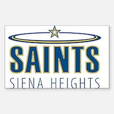 Saints Rectangle Decal