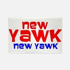 NEW YAWK Rectangle Magnet