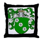 Boon Family Crest Throw Pillow