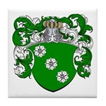 Boon Family Crest Tile Coaster