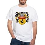 Boonen Family Crest White T-Shirt