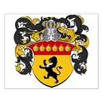 Boonen Family Crest Small Poster
