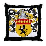 Boonen Family Crest Throw Pillow