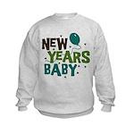 New Years Baby Kids Sweatshirt