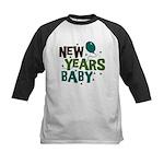 New Years Baby Kids Baseball Jersey