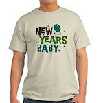 New Years Baby Light T-Shirt
