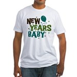 New Years Baby Fitted T-Shirt