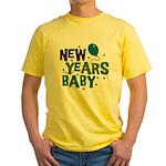 New Years Baby Yellow T-Shirt