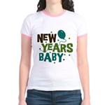 New Years Baby Jr. Ringer T-Shirt
