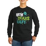 New Years Baby Long Sleeve Dark T-Shirt