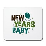 New Years Baby Mousepad
