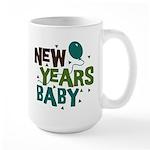 New Years Baby Large Mug