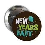 "New Years Baby 2.25"" Button"