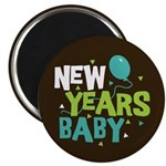 New Years Baby Magnet