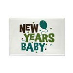 New Years Baby Rectangle Magnet (10 pack)