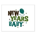New Years Baby Small Poster