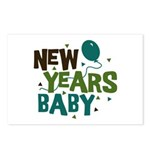 New Years Baby Postcards (Package of 8)