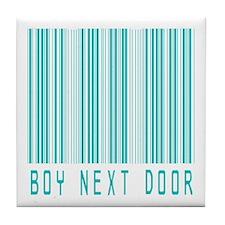 Boy Next Door Tile Coaster