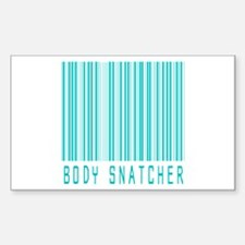 Body Snatcher Rectangle Decal