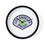 LAPD Traffic Wall Clock