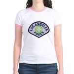 LAPD Traffic Jr. Ringer T-Shirt