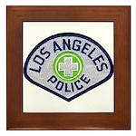 LAPD Traffic Framed Tile