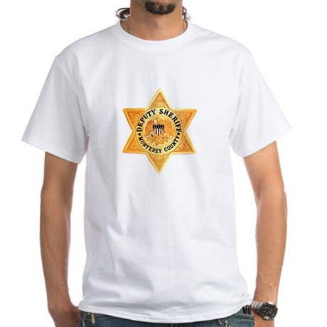 Monterey County Deputy White T-Shirt