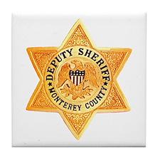 Monterey County Deputy Tile Coaster