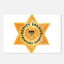 Monterey County Deputy Postcards (Package of 8)