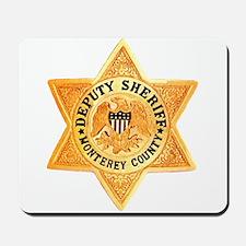 Monterey County Deputy Mousepad